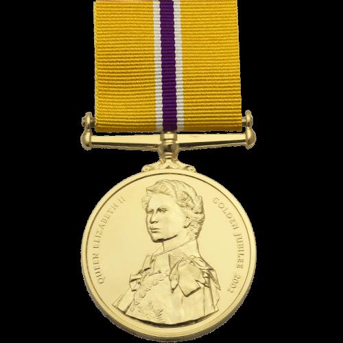 Golden Jubilee Medal Commemorative