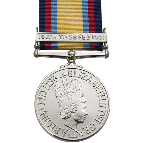 Gulf Medal with Clasp