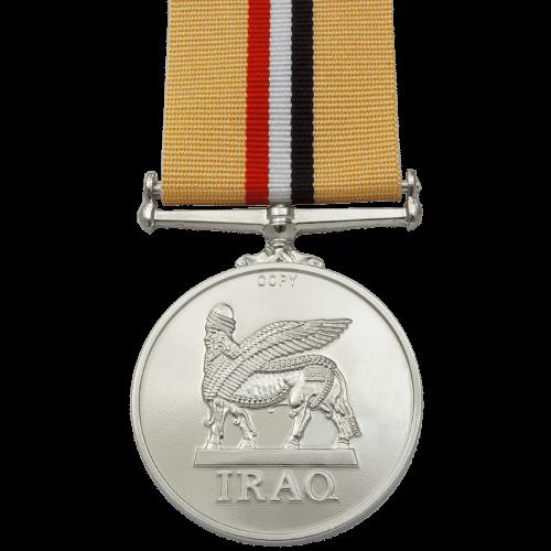 Iraq Medal Reverse