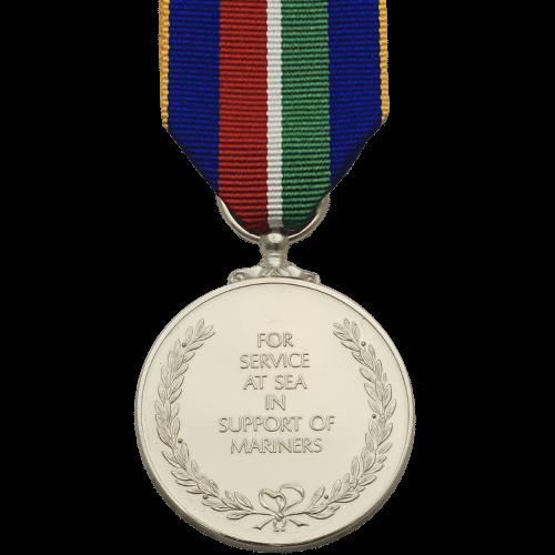 Maritime Service Medal Commemorative Reverse