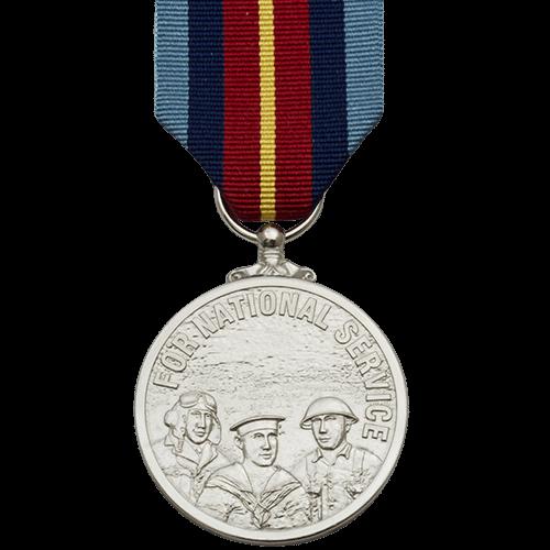 National Service Medal Commemorative