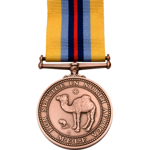 North Africa Service Medal Commemorative
