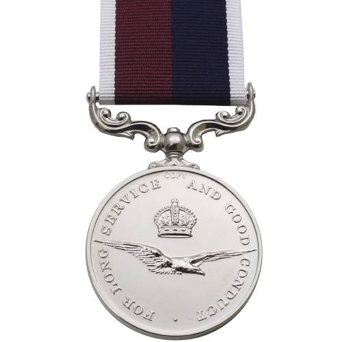 RAF Long Service And Good Conduct LSGC Medal Reverse