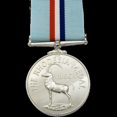 Rhodesia Medal Reverse
