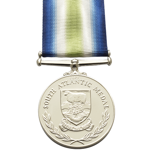South Atlantic Medal Reverse