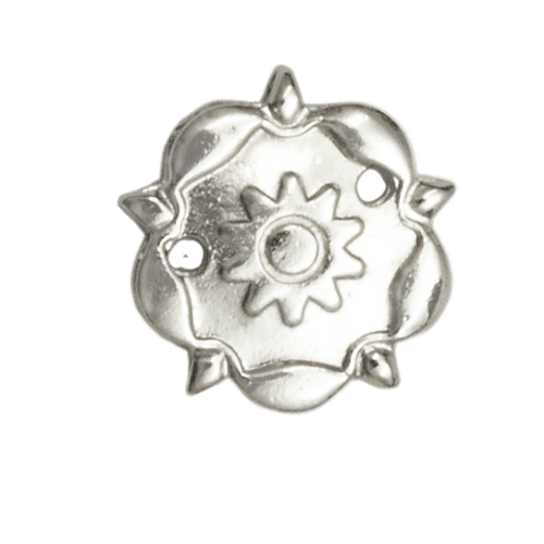 South Atlantic Style Silver Rosette