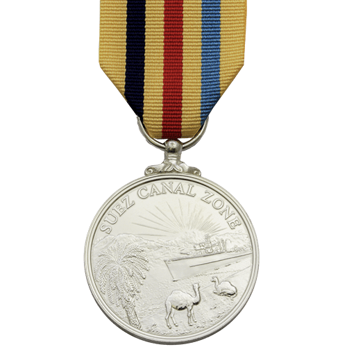 Suez Canal Zone Medal Commemorative