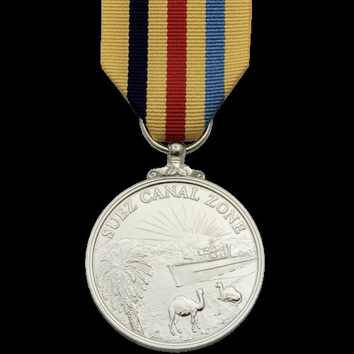 Suez Canal Zone Medal Commemorative
