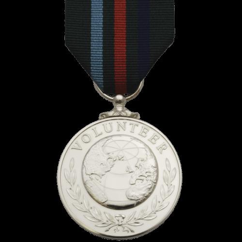 Voluntary Service Medal Commemorative Reverse
