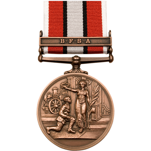 British Fire Service Association BFSA Bronze Medal