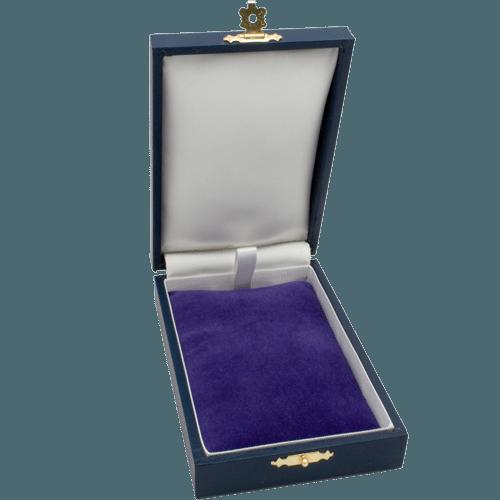 Medal Case Single Space Open