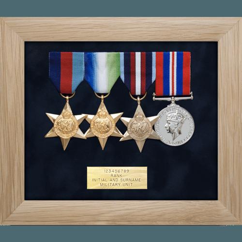 Medal Display Frame Four Medals