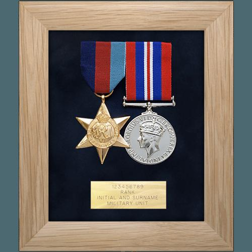 Medal Display Frame Two Medals