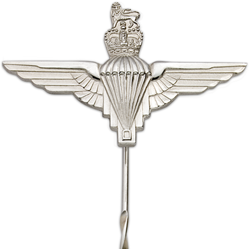 Parachute Regiment Tie Pin Close Up