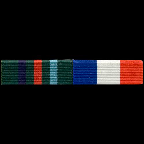 Ribbon Bar commemorative Example