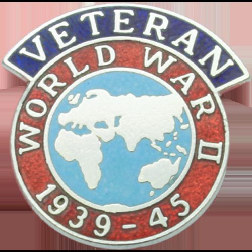 WW2 Veterans Badge Enamelled