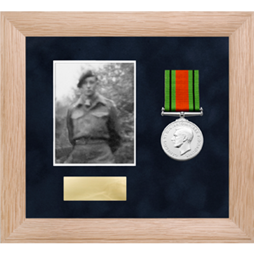 Photo Medal Display Frame for up to 2 Medals-1
