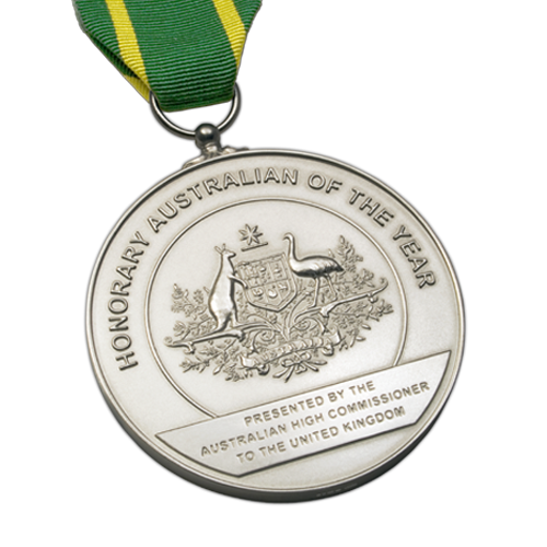 Australia Day Foundation Award Medal