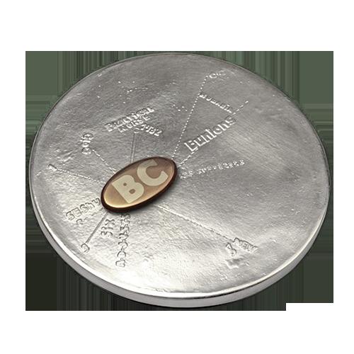 Ellen Gallagher Medal Of Dishonour Art Medal Reverse
