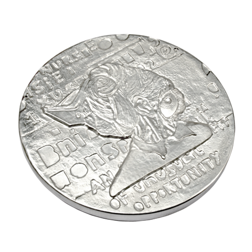 Ellen Gallagher Medal Of Dishonour Art Medal