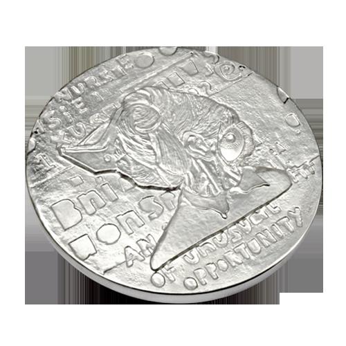 Ellen Gallagher Medal Of Dishonour Art Medal