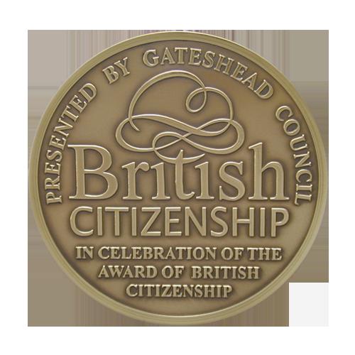 Gateshead Council Citizenship Medal