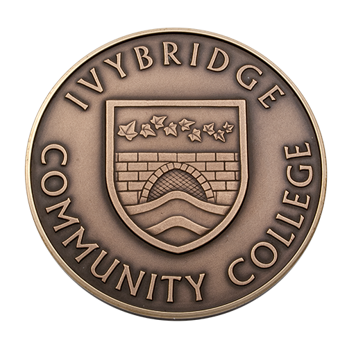 Ivybridge Community College Medal