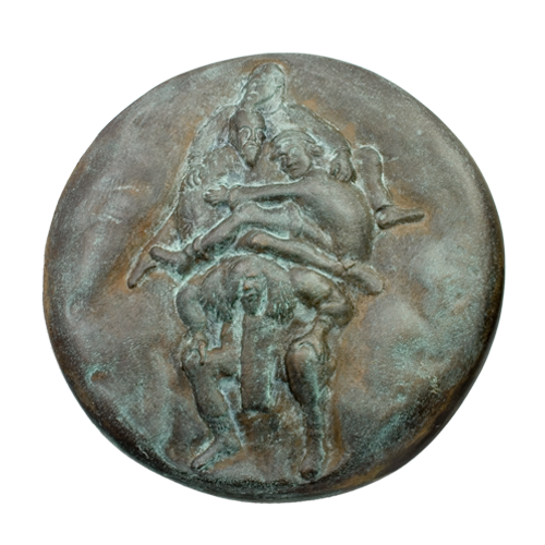 Lenkiewicz Weight Of Paint Art Medal