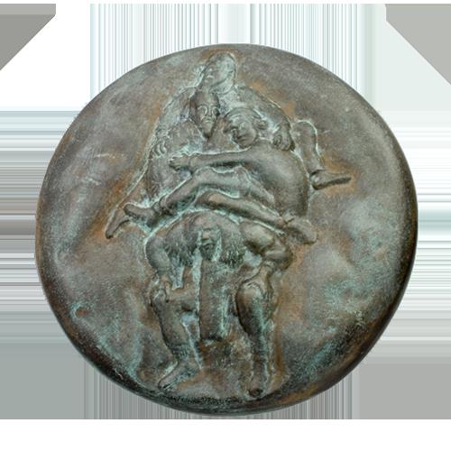 Lenkiewicz Weight Of Paint Art Medal