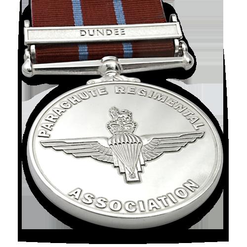 Parachute Regiment Association Medal Front