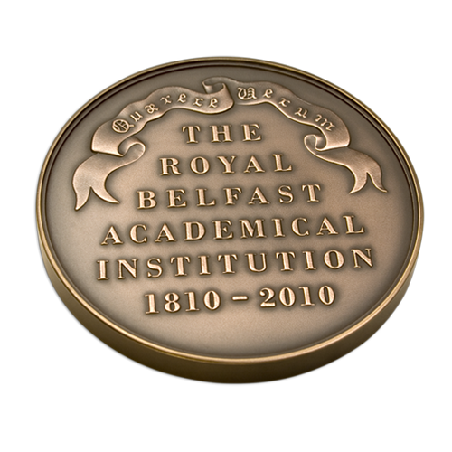 The Royal Belfast Academical Institution Medal Reverse
