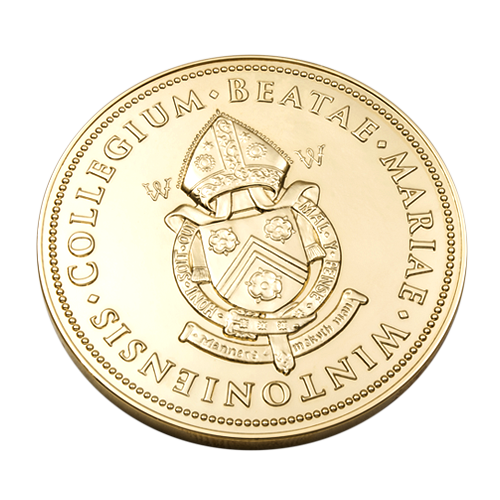 Winchester College Kenneth Clarke Medal Reverse