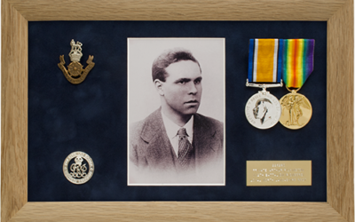Military Medal Display Frame Case Study-Pilkington