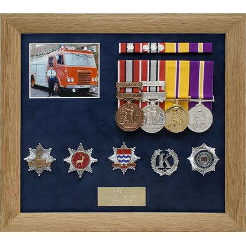 West bespoke medal frame