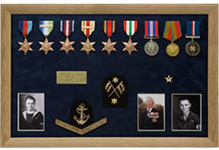 Bespoke Medal Display Frame