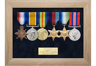 Standard Medal Display Frame