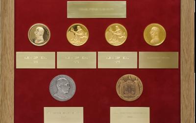 Military Medal Display Frame Case Study-RAMC Medal Set