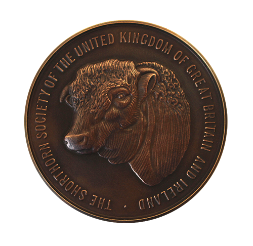 National Trust. Winston Churchill's Shorthorn Cow Medal