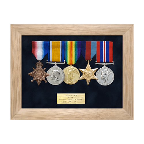 Medal Display Frames