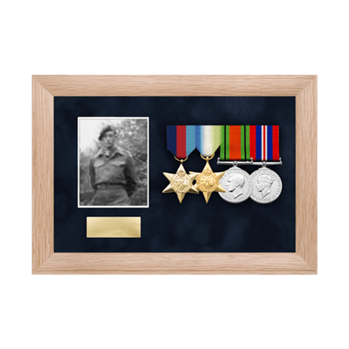 Photo Medal Display Frame