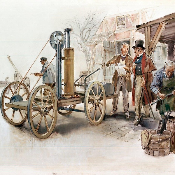 De Rivaz Engine : World's first engine to power an automobile