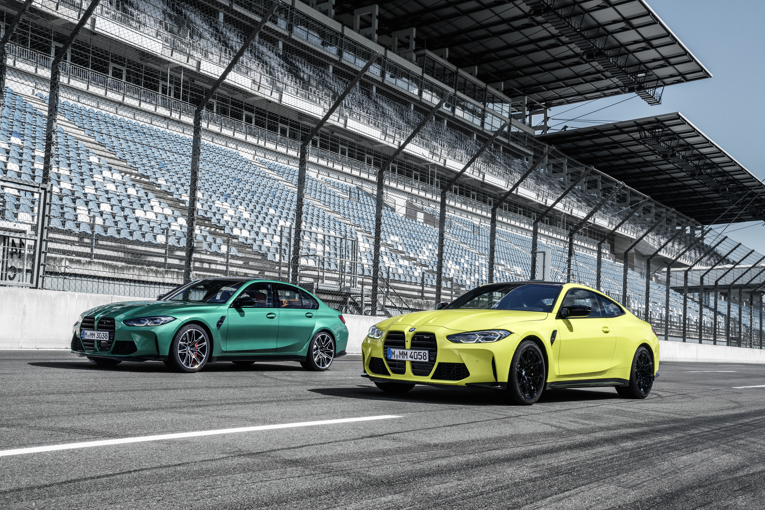 2021 BMW M4 Coupe and M3 Sedan: the new dynamics in design.