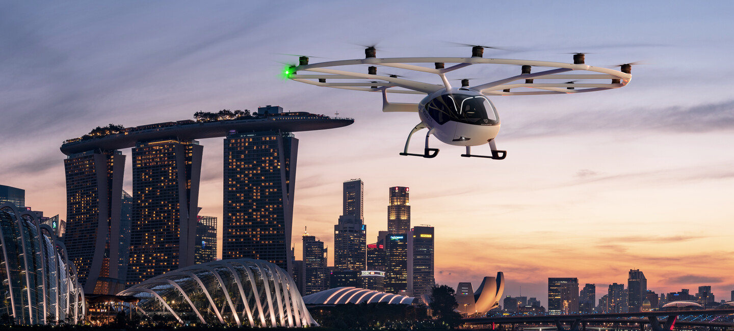 """Volocopter and Lufthansa ties up to build the digital backbone for urban air mobility """"VoloIQ"""""""