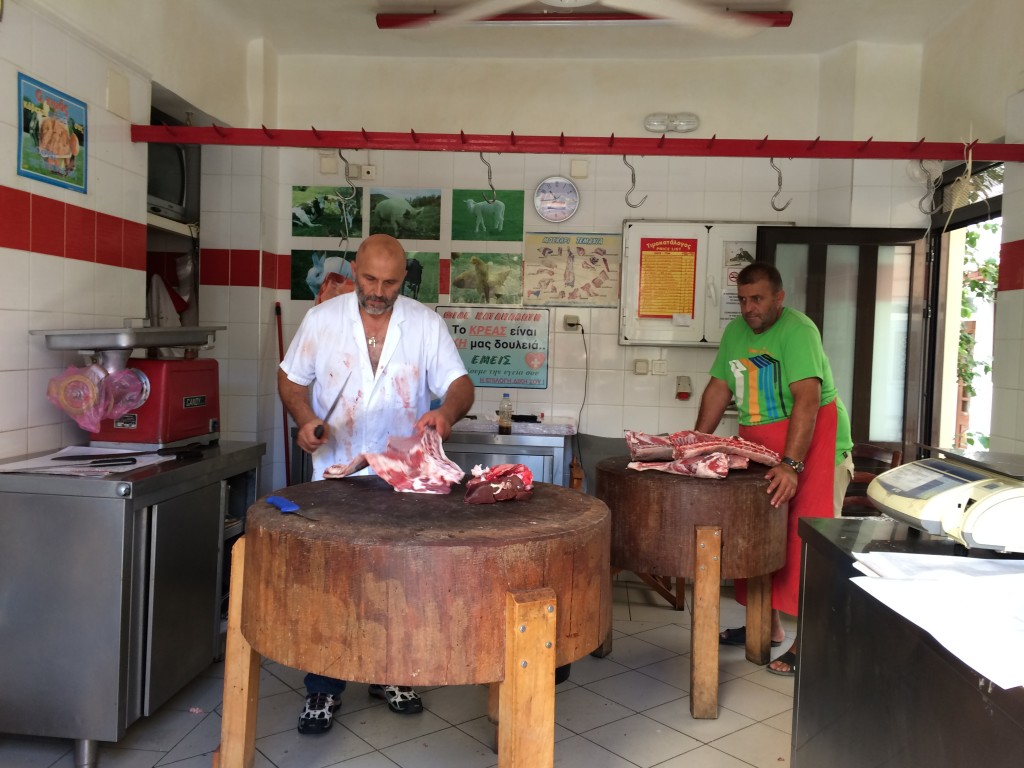 Butchers abroad
