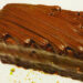 Chocolate Ganache Glazed Gateau $2.50 (#334)