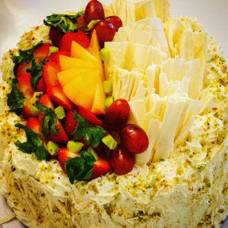 White Chocolate Fruit Cake $39.99