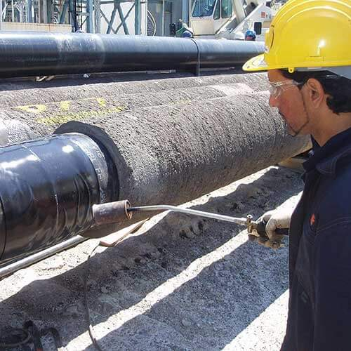 Polyurethane mortar - FJC Field Joint Coatings