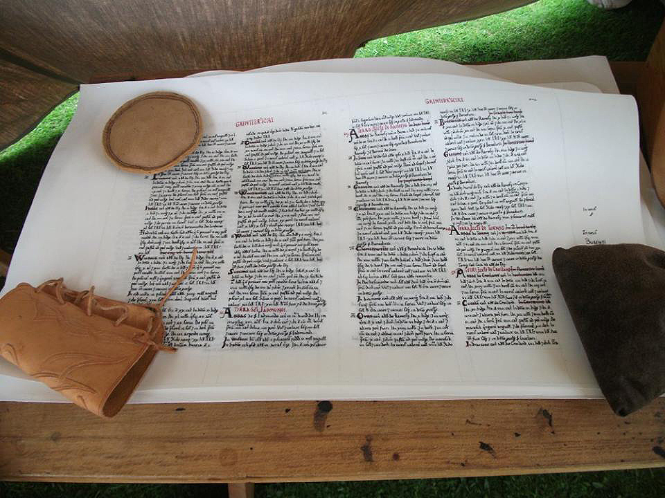 Domesday manuscript