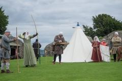 Lady Helen loosens her arrow