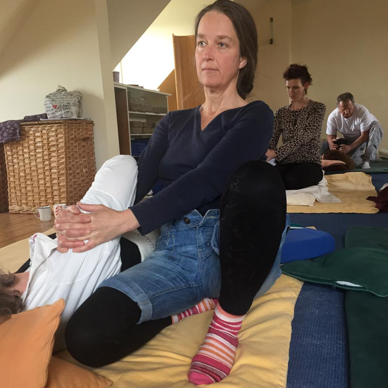 shiatsu treatment shoulders